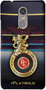 Macmerise Rcb Stadium Logo Sublime Case For Lenovo K6 Note