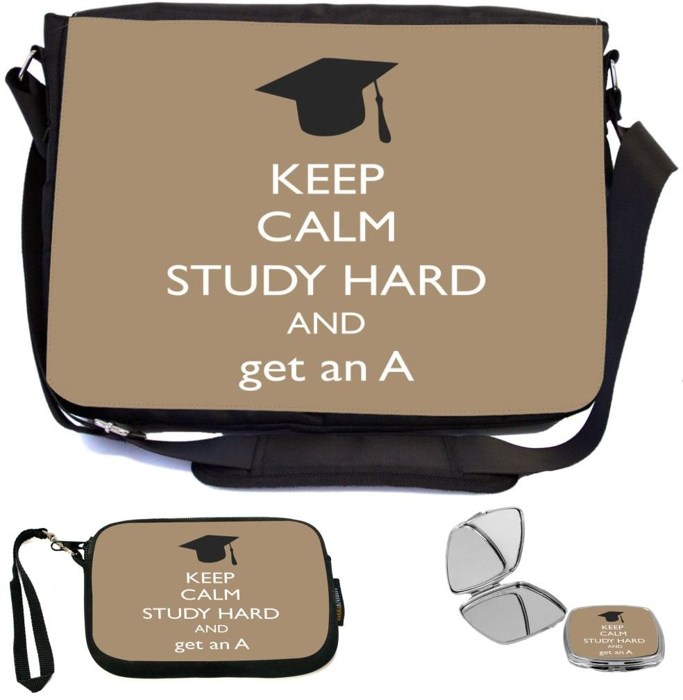 910504a11e82 best Rikki Knight Keep Calm Study Hard and Get an A Brown Color ...