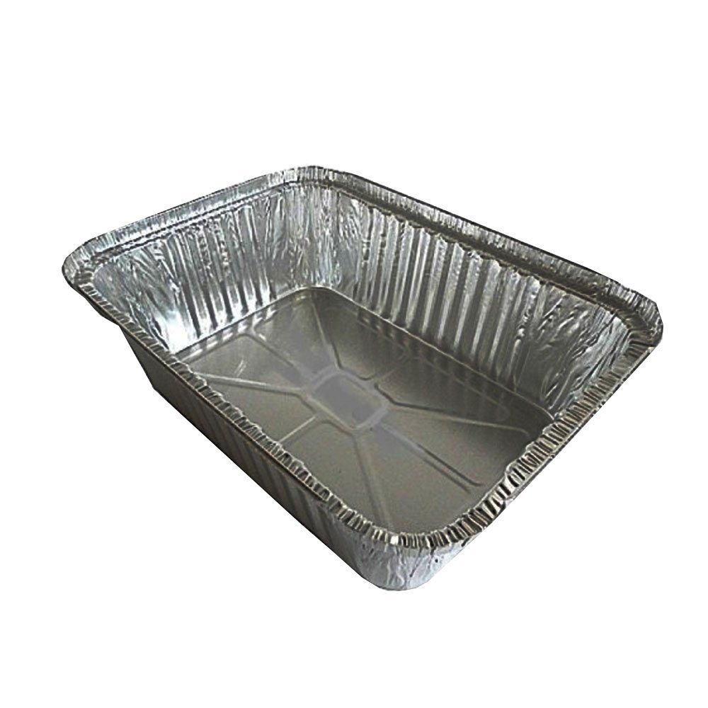 Pactiv 79945 CPC 5 lbs Loaf Aluminum Pan - Case of 250