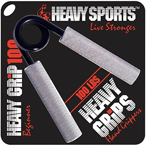 Heavy Grips Hand Grippers for Beginners to Professionals 100 350 lbs Resistance