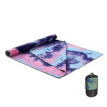 MBEN Toalla de Yoga, partículas de Silicona de absorción de ...