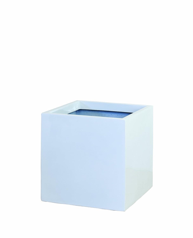 大和プラスチック 鉢カバー&ポット スクエアポットS型 底面穴あき加工済み 340×340×H340 S-34 ホワイト B006OFRRAQ S-34|ホワイト ホワイト S34