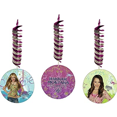 Hannah Montana 32in Dangling Decorations 3ct: Toys & Games