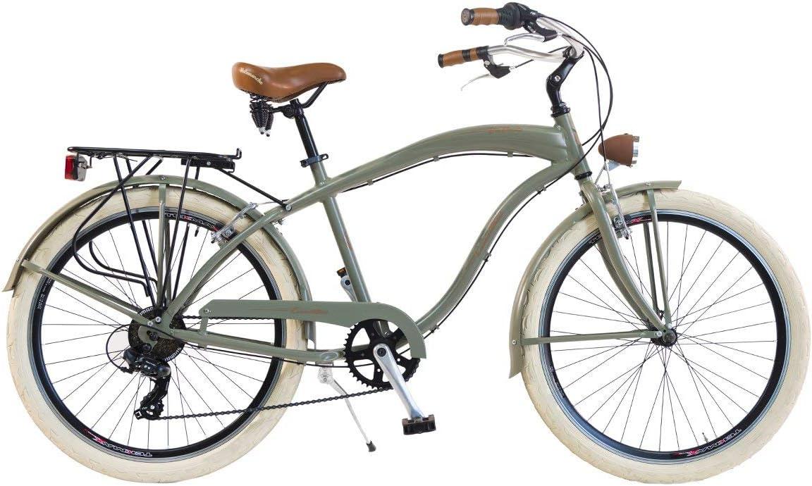 Via Veneto by Canellini Bicicleta Bici Citybike CTB Mujer Vintage Via Veneto American Cruiser Aluminio