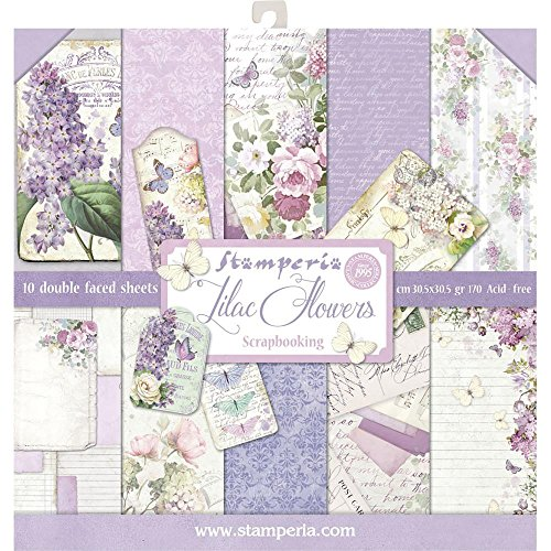 Sbbl21 Stamperia Double-sided Paper Pad 12