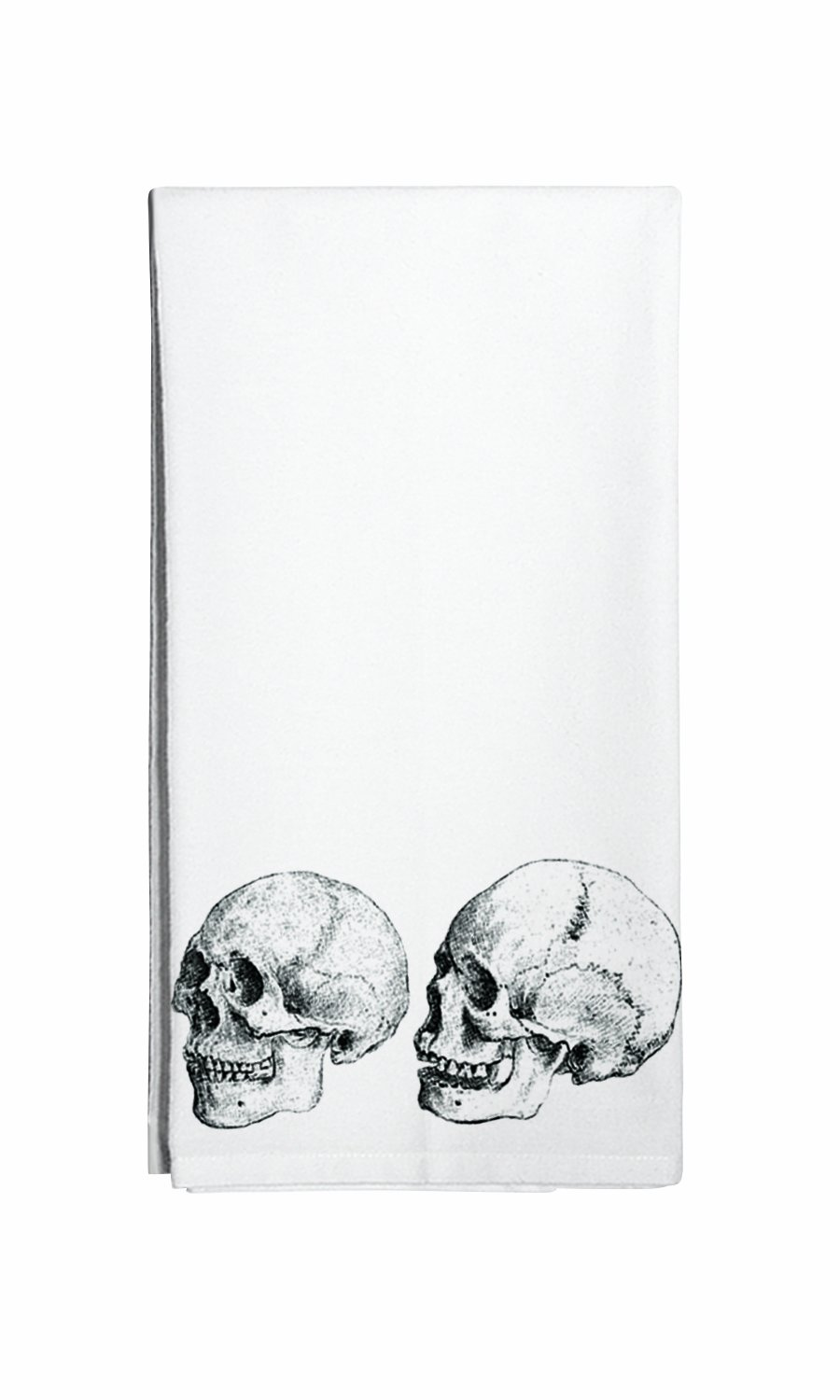 Amazon.com: Montgomery Street Skulls Cotton Flour Sack Dish Towel ...