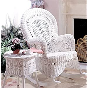 61ptBLK4L6L._SS300_ Wicker Rocking Chairs & Rattan Wicker Chairs