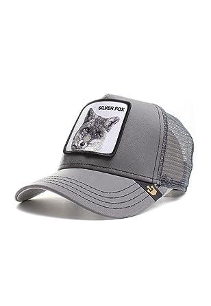 6d978b9d Goorin Bros.. - Goorin Brows - Trucker Cap - Silver Fox - Grey, Grau ...
