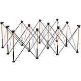 Bora Centipede 4ft x 6ft 12-Strut Work Support and Portable Sawhorse with accessories, CK12S Work Stand