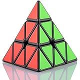 FAVNIC ピラミンクス 三角型 立体パズル 3x3x3 競技用 ポップ防止 知育玩具