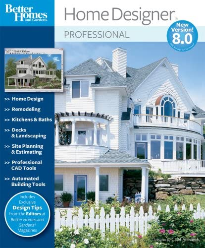 Amazon Com Better Homes And Gardens Home Designer Pro 8 0 Download Old Version Software