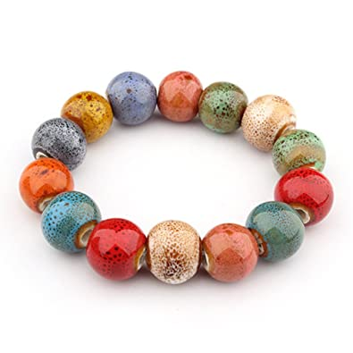 Coaches' & Referees' Gear Marker Boards Colorful Bead Bracelet Handmade Chinese Style Gift for Women Friend Mrsrui