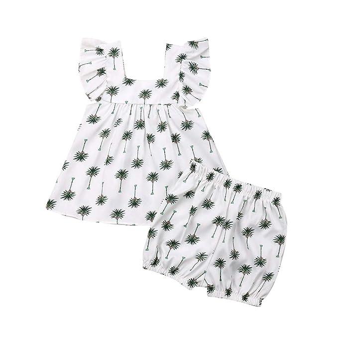 Amazon.com: Conjunto de ropa para bebés y niñas, 2 piezas ...