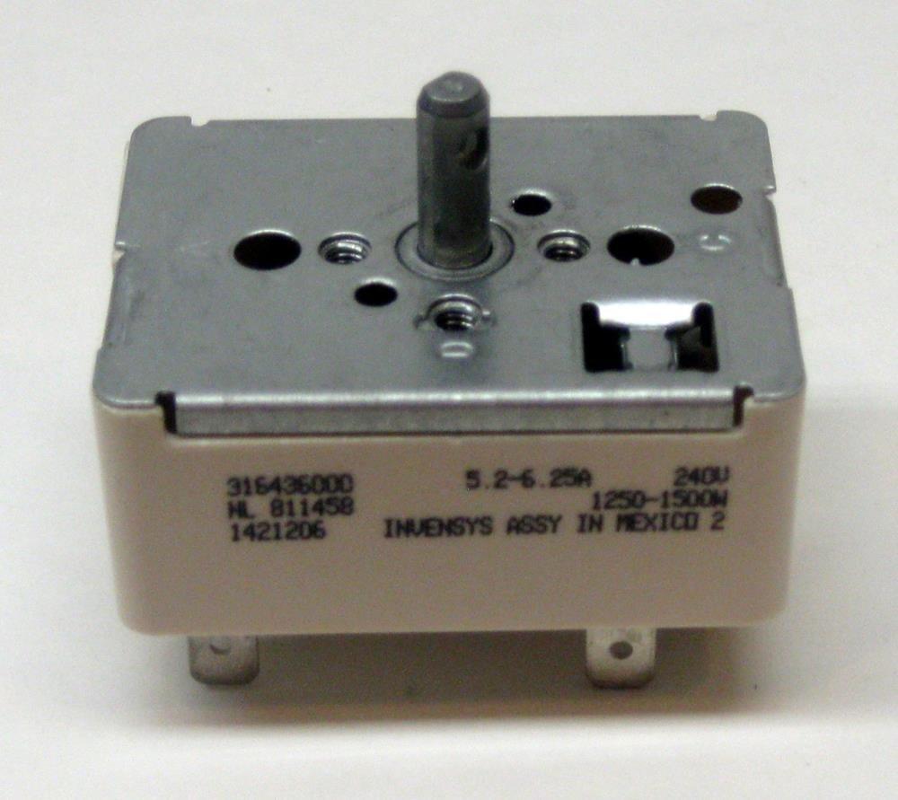 Cooking Appliances Parts 316436000 for Frigidaire Switch, Burner Stove Element Range AP3890378 PS1145039