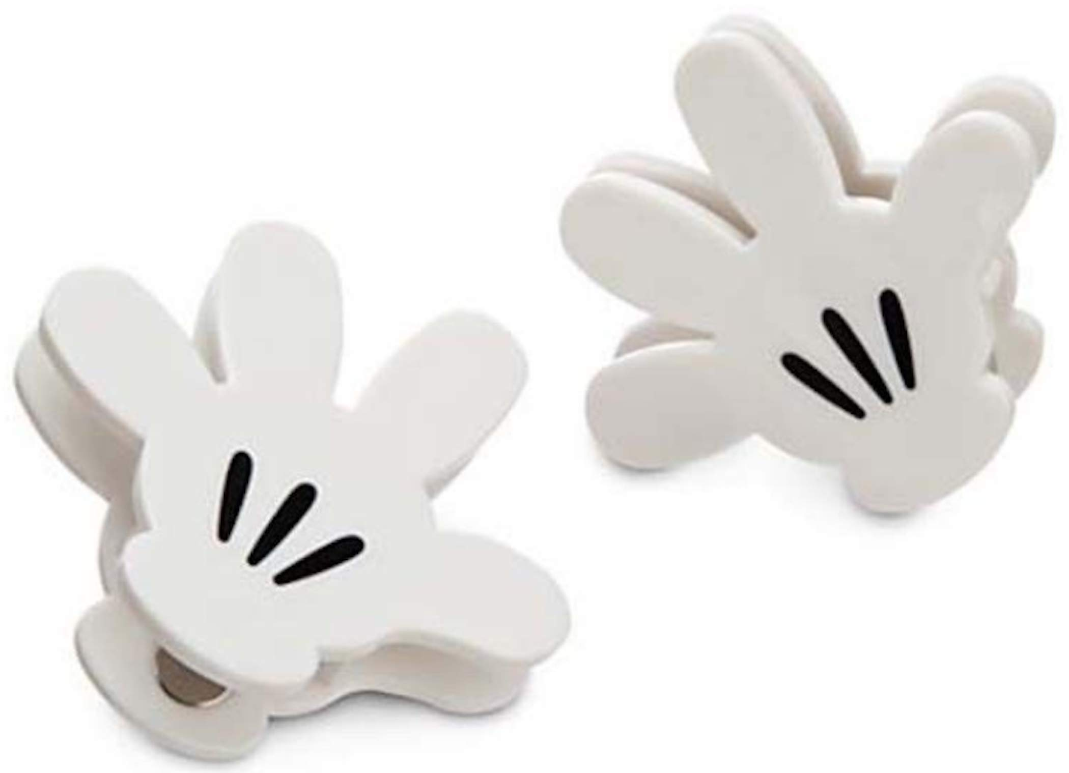 Disney Parks Mickey Mouse Hand Glove Bag Clips - Set of 2