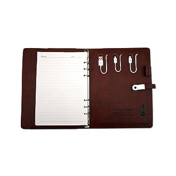 A5 Cuaderno Cuero de viaje agenda planificador diario ...
