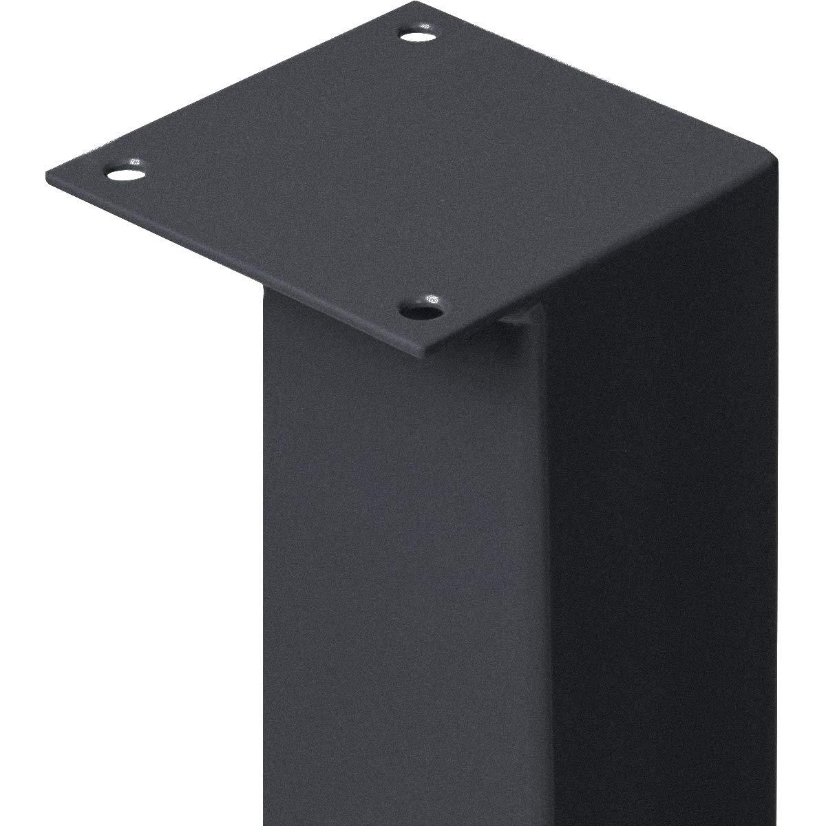 Noir Fonce Hauteur 90 Cm Hlt 14a J 90 9005 Holzbrink Pied De