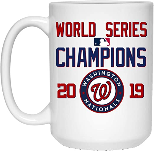 Boelter Washington Nationals 2019 World Series Champions 15oz Roster Mug