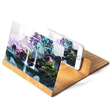 MAIFENGLE 3D Mobile Pantalla del Telefono Lupa Amplificador ...