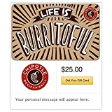 Chipotle Gift Card - E-mail Delivery