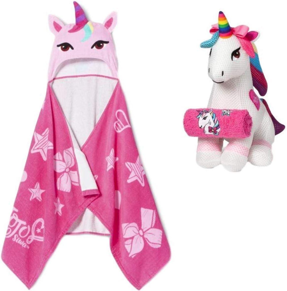 JoJo Siwa Unicorn Hooded Bath Towel