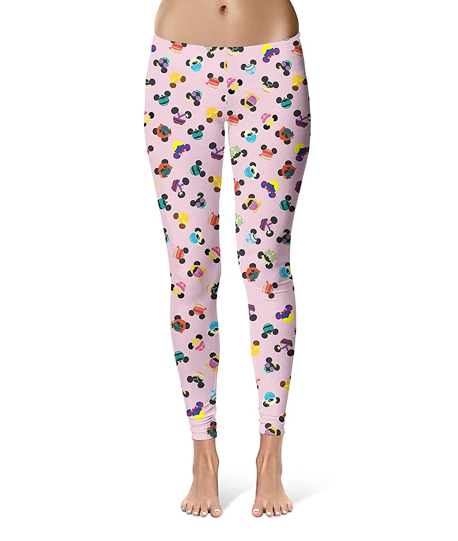 Pantalones Moda Mujer Orejas Ratón De Disney De Yoga Pantalones ...