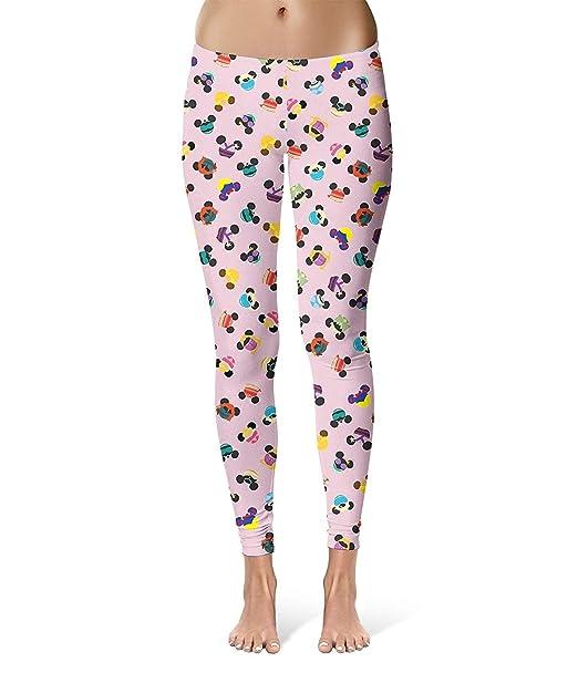 Pantalones Moda Mujer Orejas De Ratón De Disney Yoga ...