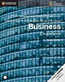 img - for Cambridge International AS and A Level Business Coursebook with CD-ROM (Cambridge International Examinations) book / textbook / text book