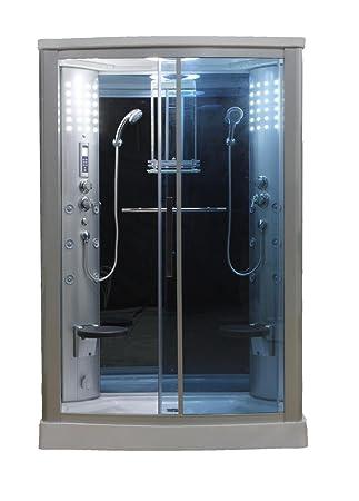 Eagle Bath WS-803L 110v ETL Certified Steam Shower Enclosure 3KW generator  with 2 Fold