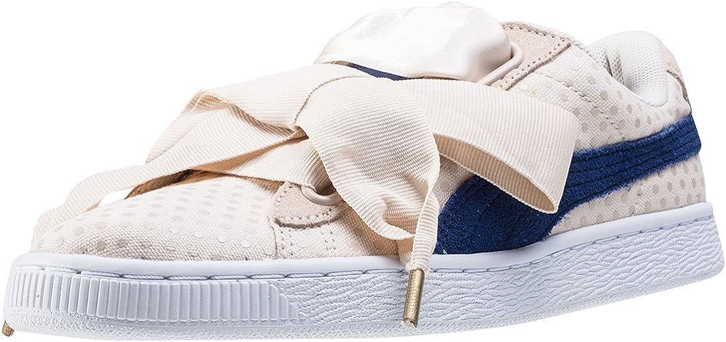 | PUMA Basket Heart Denim Sneaker Women Girls