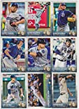San Diego Padres 2015 Topps MLB Baseball Regular Issue Complete 22 Card Team Set with James Shields, Cameron Maybin Plus