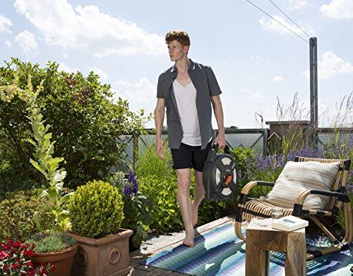 61ptMnocFjL Gardena city gardening Terrassen-Schlauchbox 10 m: Schlauchrolle mit 10 m Schlauch, einklappbare Kurbel und Griff…