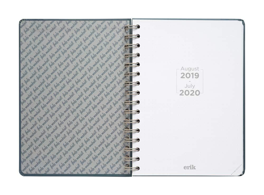 Agenda escolar 2019/2020 A5 12 meses Semana Vista Real Madrid