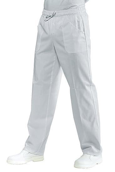 Isacco Pantalone con elastico Bianco 5d66c5593e5f