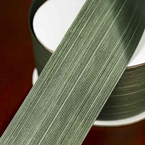 Factory Direct Craft Waterproof Green Aspidistra Leaf Ribbon | 50 Yards by Factory Direct Craft (Image #1)