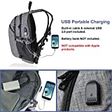 Laptop Backpack w/USB Charger Port ~ Fits 17 Inch