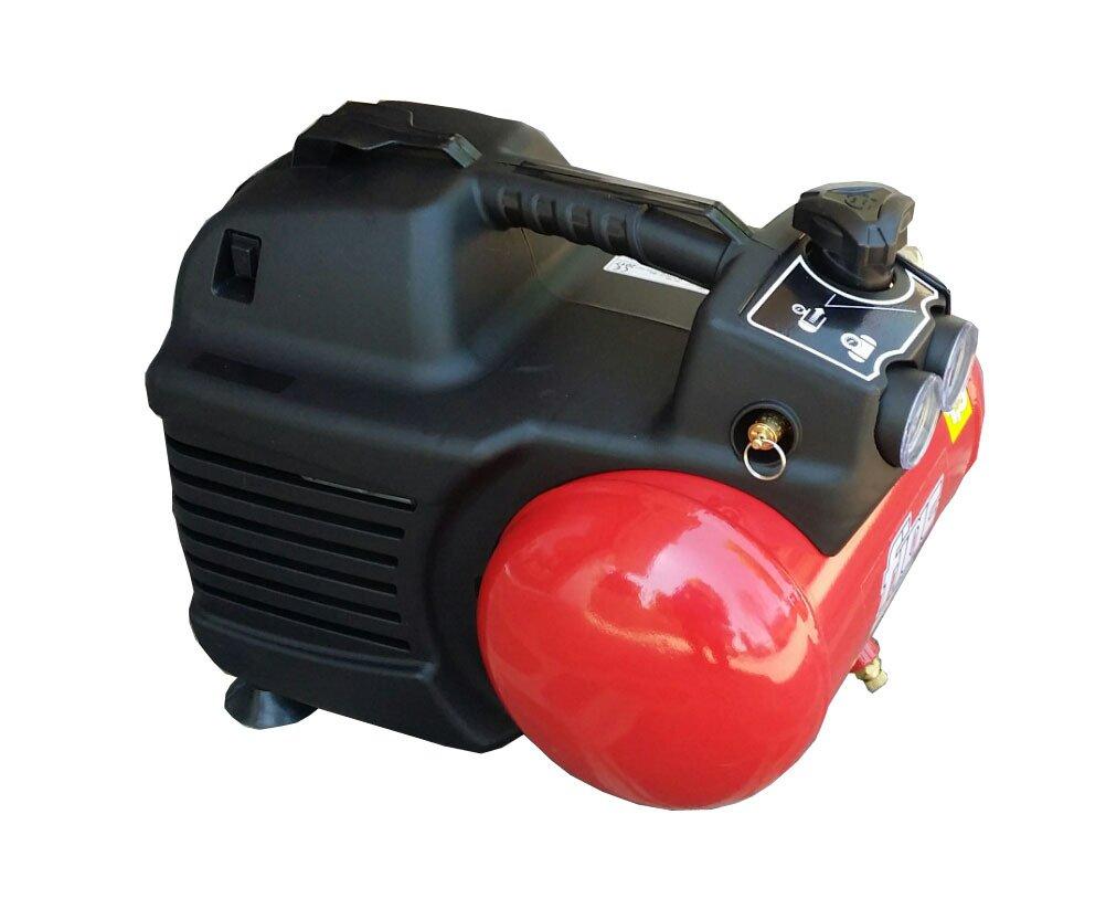 Compresor de aire Fiac Hobby Easy 1100 portátil con depósito 6 Lt Con 0,3 kW: Amazon.es: Bricolaje y herramientas