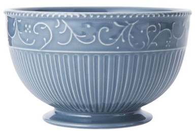 Buy Italian Countryside Accents Scroll Blue Cereal Bowl online at Mikasa.com