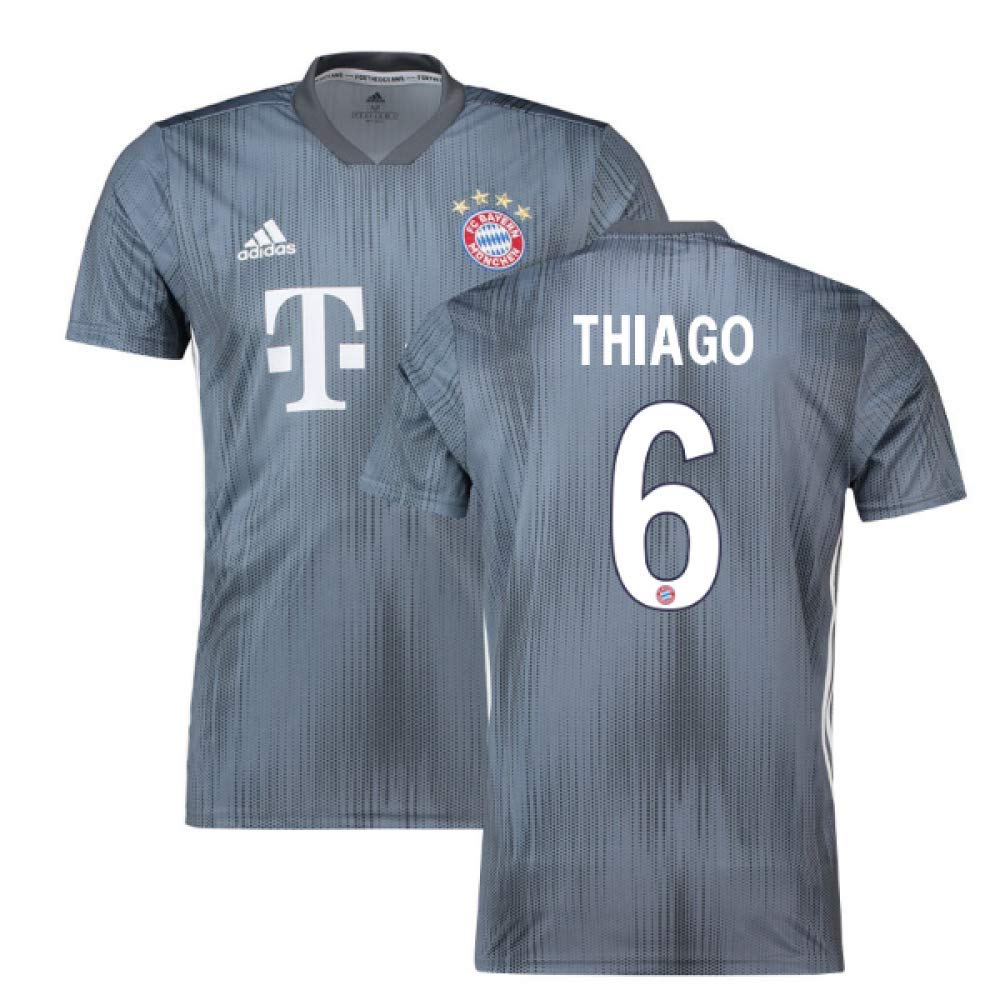 2018-19 Bayern Munich Third Football Soccer T-Shirt Trikot (Thiago 6)