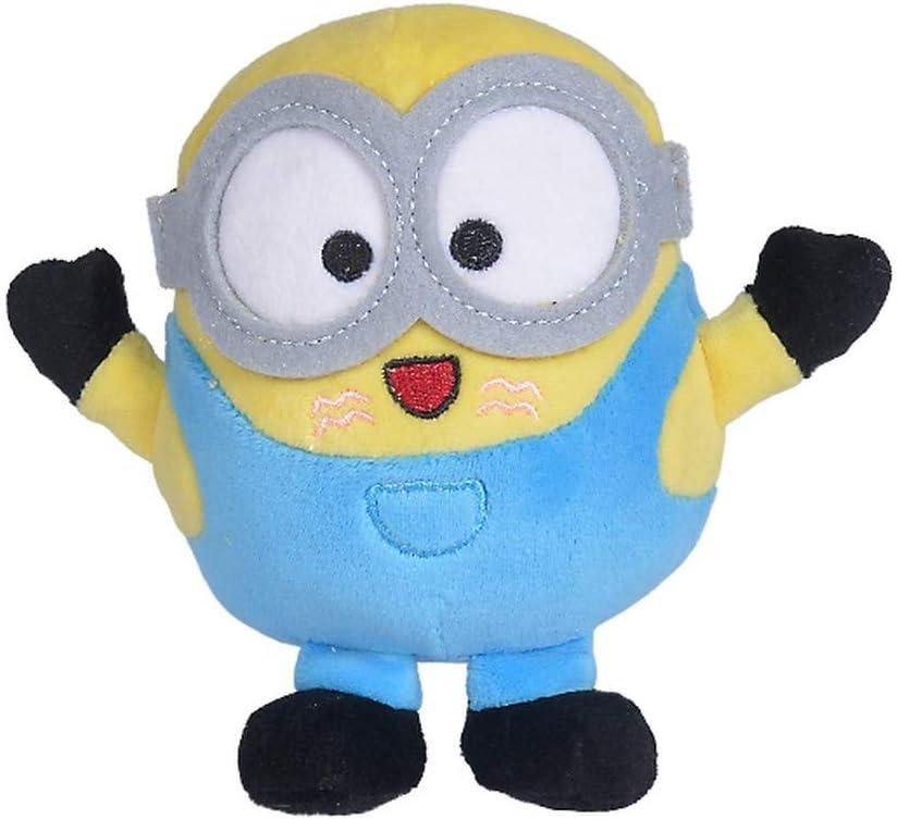 Doudou Malin Universal Les Minions Mini Peluche Bob c/âlin 18 cm