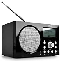 Denver IR-100 Internet Radio, DAB / DAB+ Radio & FM Radio With USB, WiFi / RJ-45 & MP3 support