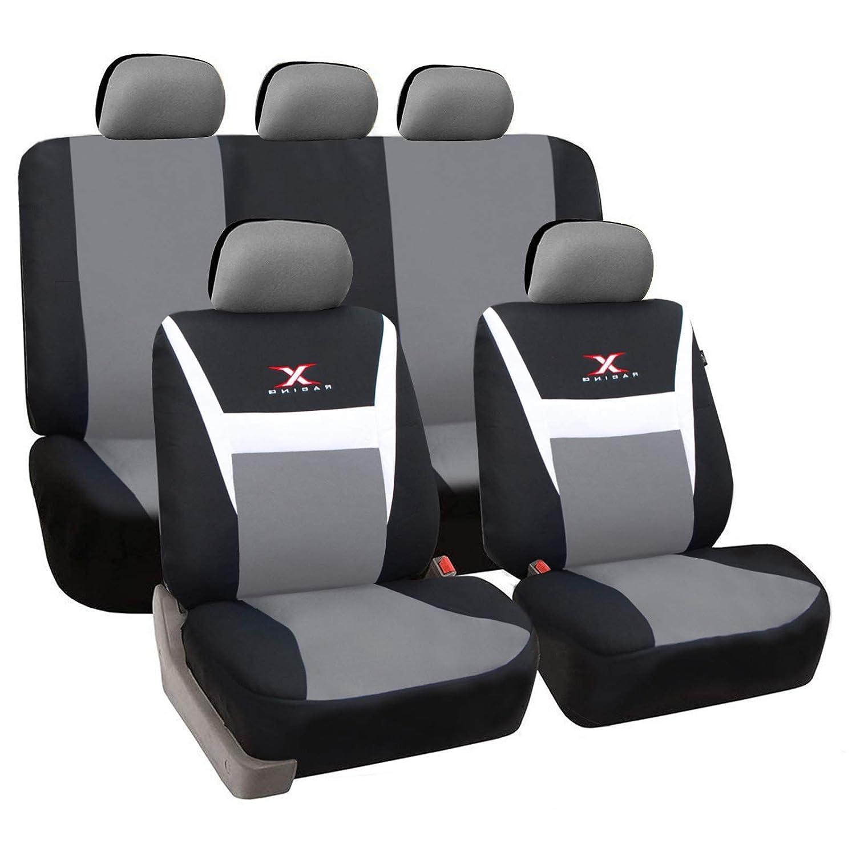 Autositzbezüge Sitzbezüge Komplettset PKW Universal Citroen ROT