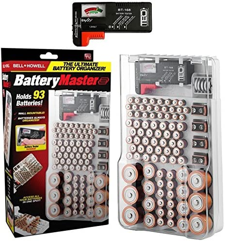 Bell Howell BATTERY Organizer Original product image