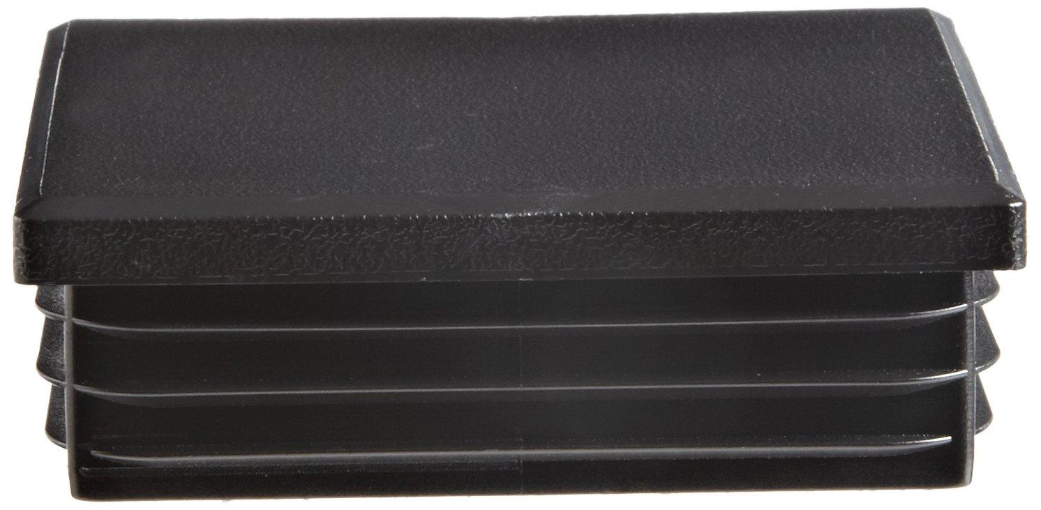 Kapsto 260 Q 6060 1.5 - 2 Polyethylene Square Plug, Black, 60 mm (Pack of 100)