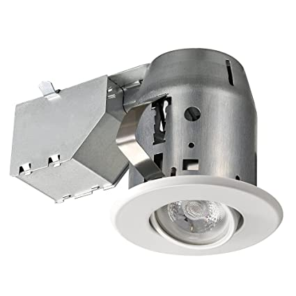 amazon com 3 dimmable downlight swivel spotlight recessed lighting