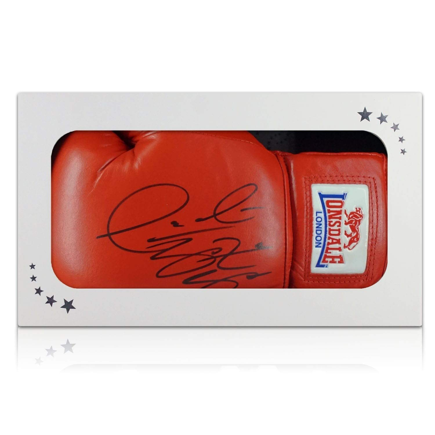 Deontay Wilder Signed Red Boxing Glove In Gift Box | Autographed Memorabilia Exclusive Memorabilia