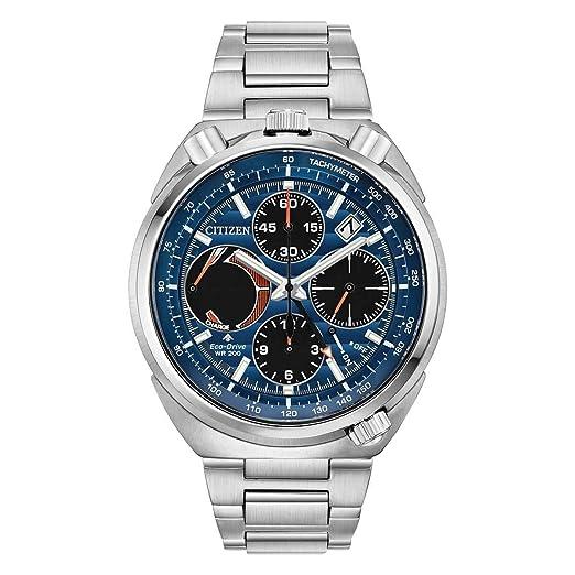 Citizen Reloj de Hombre automático 45mm Correa y Caja de Acero AV0070-57L: Amazon.es: Relojes
