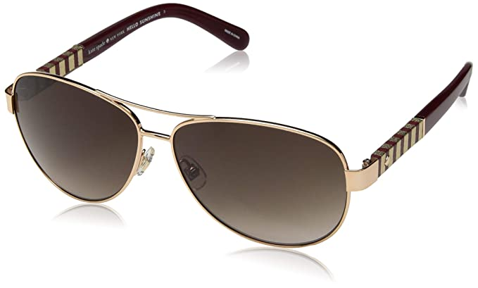 12c5a4c7d4 Image Unavailable. Image not available for. Color  Kate Spade Women s Dalia s  Us Aviator ...