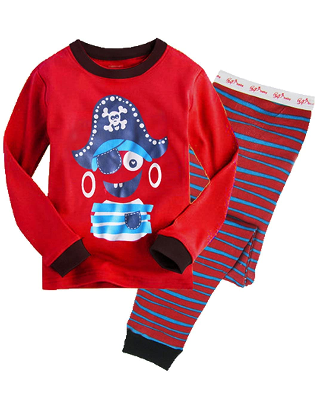 Little Boys and Girls Pajamas Sets 100/% Cotton Clothes Toddler Pjs Kids