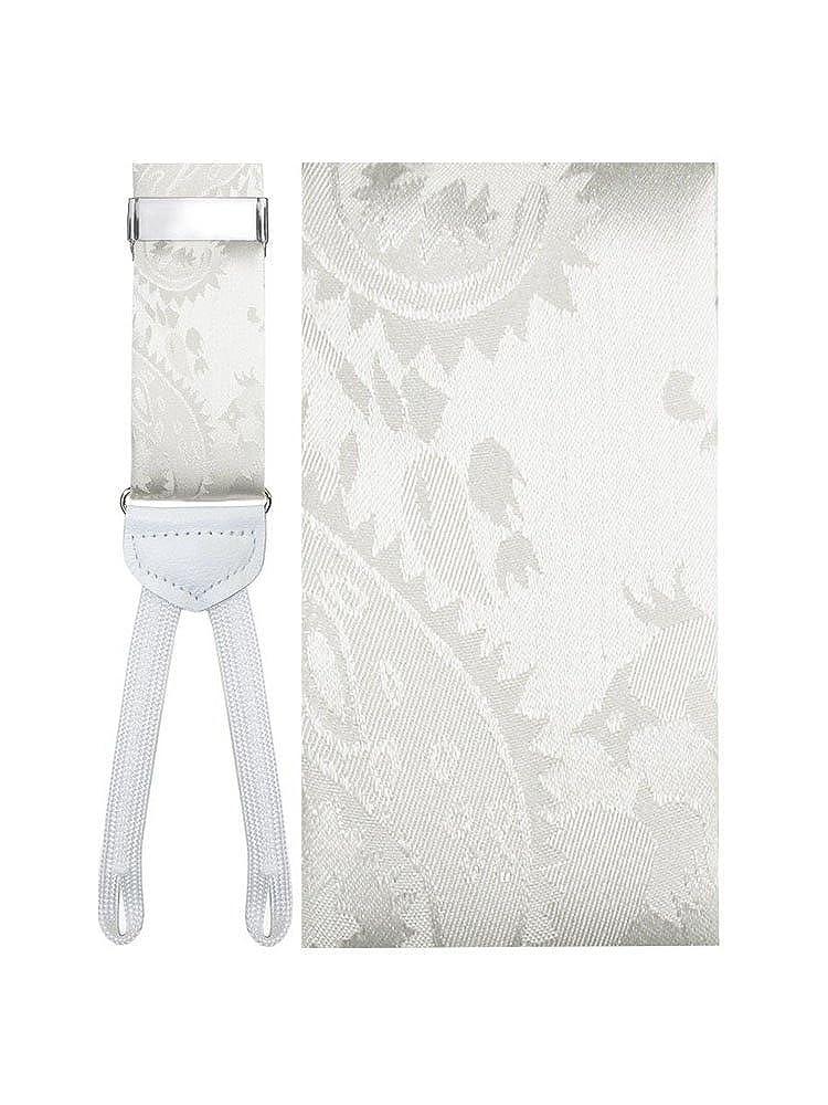 Silk Paisley Suspenders